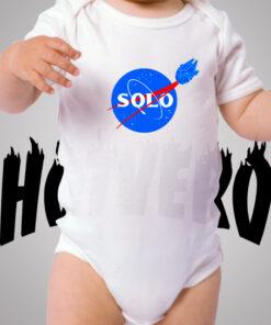 Han Solo Star Wars Planet Cute Baby Onesie