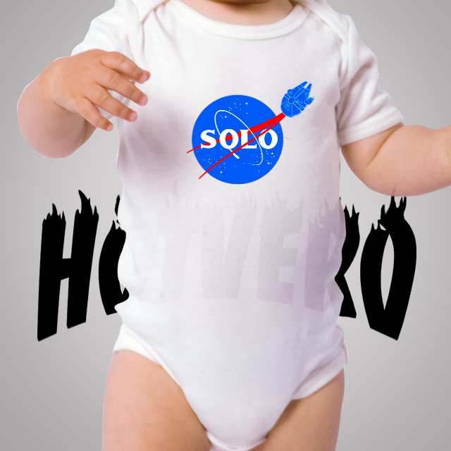 Han Solo Star Wars Planet Cute Baby Onesie