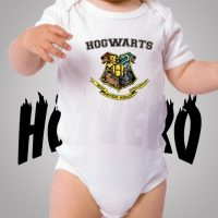 Harry Potter Hogwarts School Cute Baby Onesie