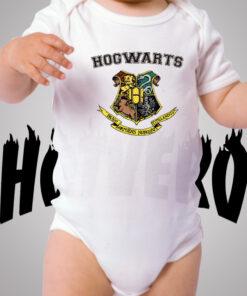 Harry Potter Hogwarts School Cute Baby Onesie