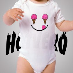 Ice Cream Smile Cute Baby Onesies