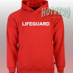 Lifeguard Beach Graphic Hoodie