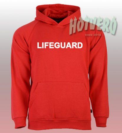 Lifeguard Beach Graphic Hoodie