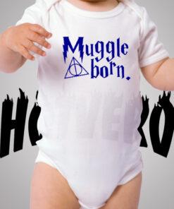 Harry Potter Muggle Born Cute Baby Onesies
