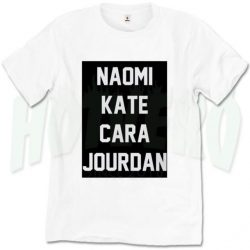 559cdc317421 Naomi Kate Cara And Jourdan Cute T Shirt
