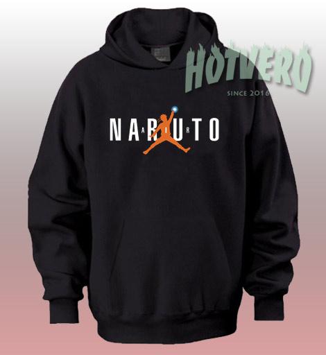 Naruto Air Jordan Parody Unisex Custom Hoodie