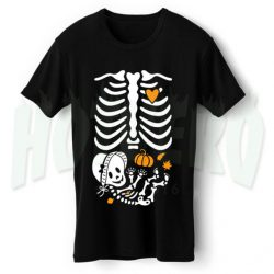 Pump Girl Thanksgiving Maternity Halloween T Shirt