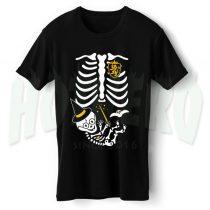 Skeleton Baby Harry Potter Maternity Halloween T Shirt