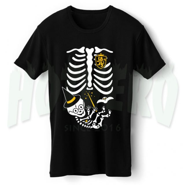 Skeleton Baby Harry Potter Maternity Halloween T Shirt