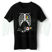 Skeleton LGBT Baby Maternity Halloween T Shirt