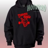 Thrash And Burn Thrasher Skategoat Custom Hoodie