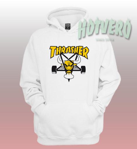 Thrasher Skatebull Unisex Custom Hoodie