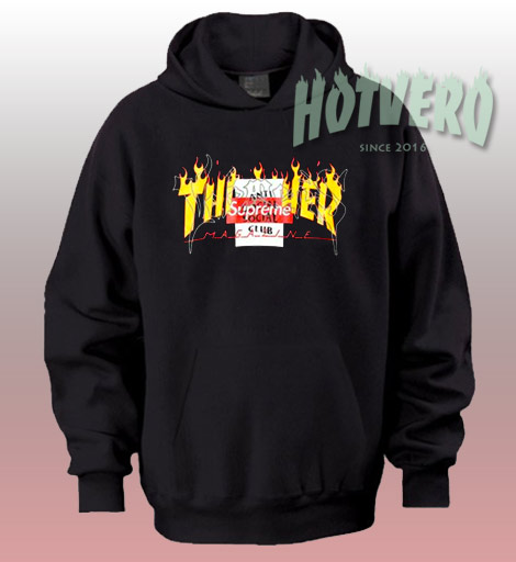 19556372147 ... Thrasher Supreme Anti Social Club Hoodie Urban Fashion Collabs ...