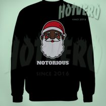 Big Notorious Black Santa Funny Ugly Sweater