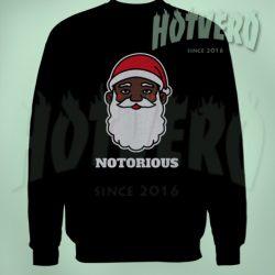 Big Notorious Black Santa Funny Ugly Sweater