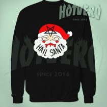 Hail Santa Satanic Christmas Ugly Sweater