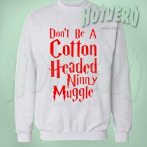 Harry POtter Cotton Headed Ninny Muggle Christmas Sweater