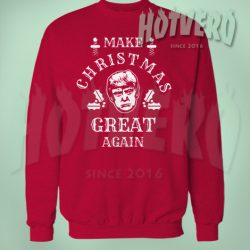 Make Christmas Great Again Trump Quote Ugly Sweater