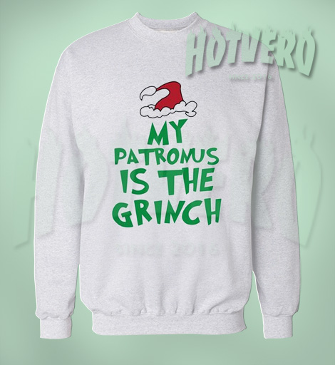 My Patronus Is The Grinch Christmas Sweater