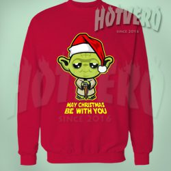 May Christmas Be With You Star Wars Sweater