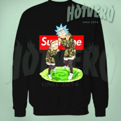 Rick Morty Supreme Thug Life Sweatshirt