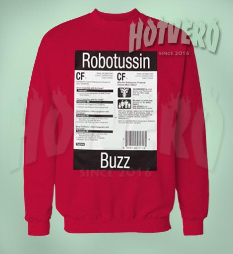 Cheap Supreme Robotussin Buzz Unisex Sweatshirt