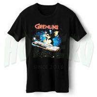 Cute Gremlins Playing Keyboard Space T Shirt