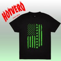 American Flag St Patrick's Day T Shirt