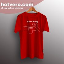 Cheap Beer Pong Instructions Classic T Shirt Design