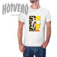 Cheap Bape X Bart Vintage Urban T Shirt