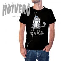 Cheap Catbus Dumbledore Funny Movie T Shirt