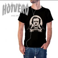 Edgar Alan Poe Raven Nevermore Classic Movie T Shirt