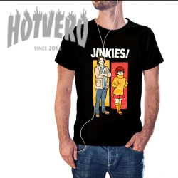 Jinkies Scoobynatural Tv Show T Shirt