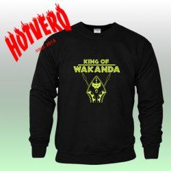 King Of Wakanda Black Panther Unisex Sweatshirt