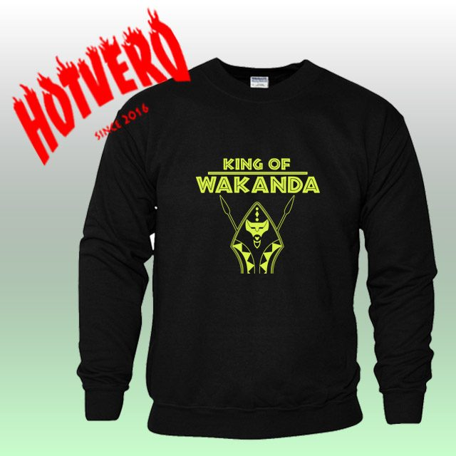 King Of Wakanda Black Panther Unisex Sweatshirt