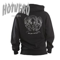 Are You Serious Drawing Unisex Hoodie