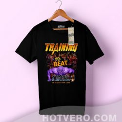 Avengers Training To Beat Thanos Movie T Shirt