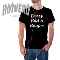 Bossy Bad And Boujee Hip Hop T Shirt
