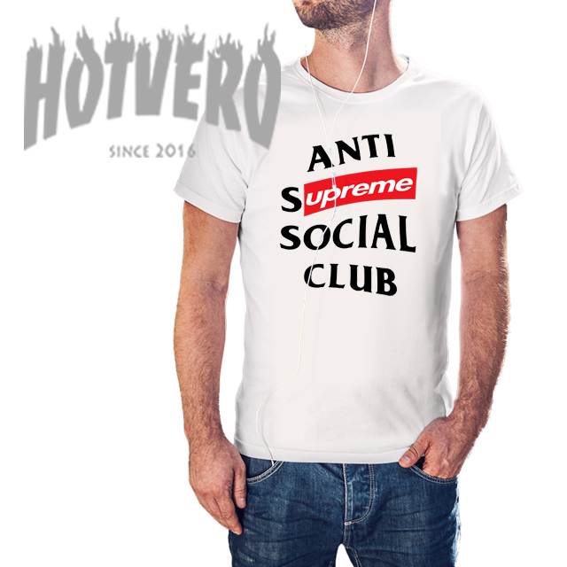 Cheap Anti Supreme Social Club Urban T Shirt