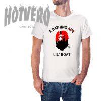 Cheap Bating Ape LIL YACHTY Lil Boat Parody Urban T Shirt