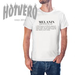Cheap Melanin Meaning Quote T Shirt