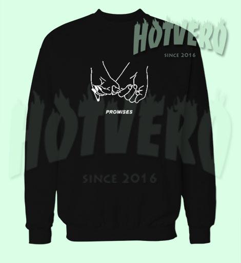 Cheap Promises Hand Romantic Sweatshirt