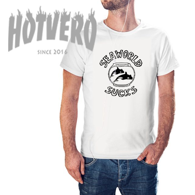 Cheap Seaworld Sucks Cool Slogan T Shirt
