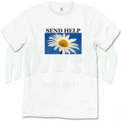 Cheap Send Help Loose Daisy T Shirt