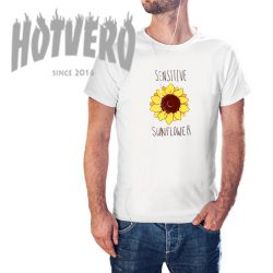 Cheap Sensitive Sunflower Summer T Shirt