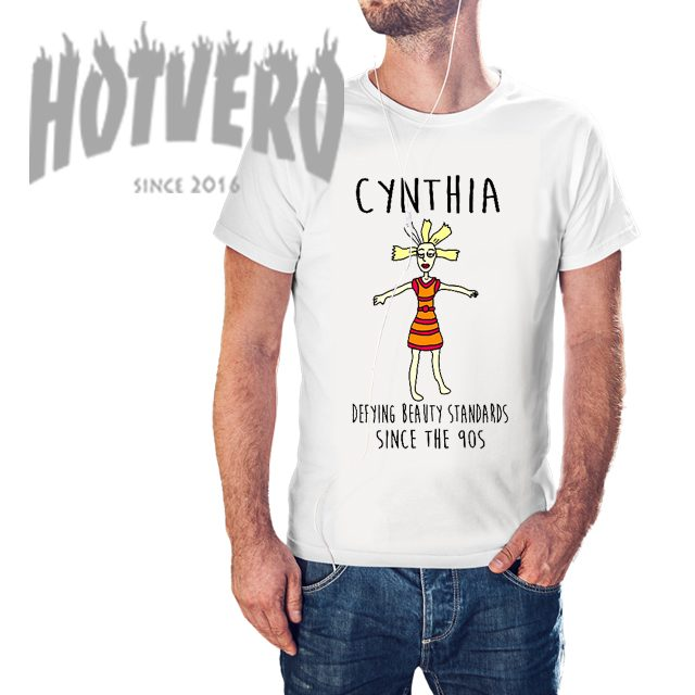 14260a80 Cynthia Rugrats Quote T shirt Defying Beauy Standards Since 90s
