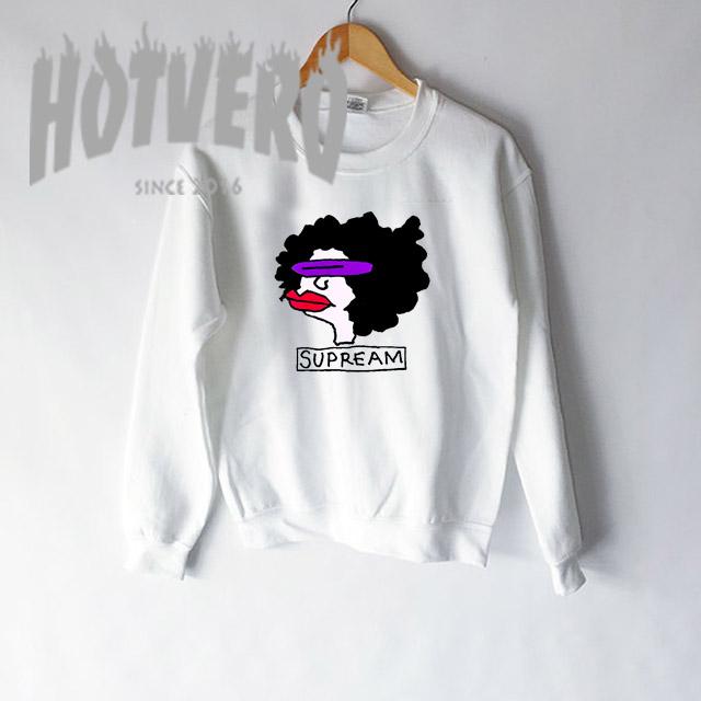 a51fb21ab ... Long Sleeve Shirts, Sweatshirts, T shirts, Tank Tops. Funny Supream  Supreme Parody Unisex Sweatshirt
