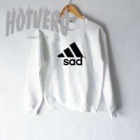 Get Buy Sad Adidas Parody Sweatshirt