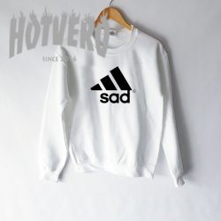 Get Buy Sad Adidas Parody Sweatshirt