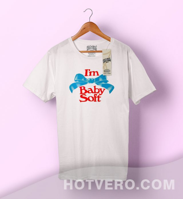 I'm Baby Soft Cute Vintage T Shirt Retro Style
